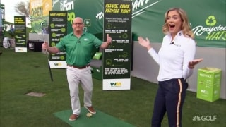 Waste Management leadership team amazes with trick shots