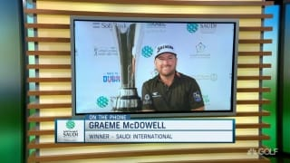 McDowell back to 'business end' of pro golf thanks to Saudi win