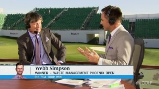 Immelman: Simpson has 'killer instinct' that kicked in at WMPO