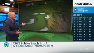 Isenhour previews Nos. 8 and 18 at iconic Pebble Beach