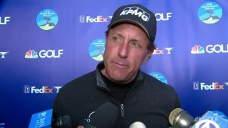 Mickelson: 'I got outplayed ... but I'm going to continue to get better'