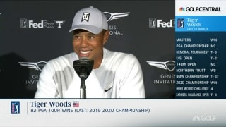 That time Tiger was told, 'Move out of the way, kid'