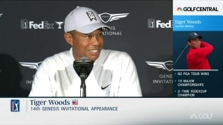 Genesis Invitational: Tiger meets media Tuesday at Riviera