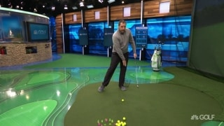 GOLFTEC Tips: Fix your sway to swing like Holmes