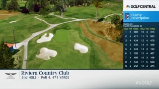Shackelford breaks down Riviera's par-4 second hole