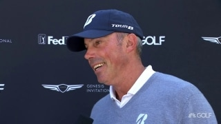 Kuchar (64): Fun to see putts go in and sneak away with birdies