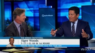 Begay on Tiger: 'Host mode' might have taken toll on back nine