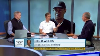 Appleby: Tiger hates feeling like there's a chance to fail