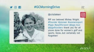Players react to the passing of golf legend, Mickey Wright