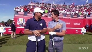 Great Moments in Time: Reed, McIlroy showdown at 2016 Ryder Cup