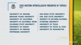 Field announced for 2020 Western Intercollegiate