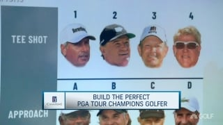 Building the perfect golfer on PGA Tour Champions