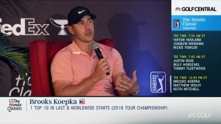 Koepka: 'Knee's great ... I've just played bad'