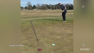 Best Thing I Saw: Two club trick shot