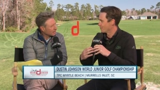 Giving young golfers unique experience at the Dustin Johnson World Junior Championship