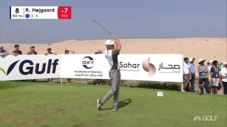 Highlights: Luiten among six tied for lead at Oman Open