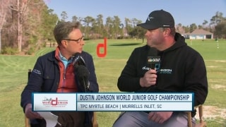 Most impressive thing from young golfers at Dustin Johnson World Junior Championship