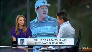 Value of a PGA Tour win for an international star