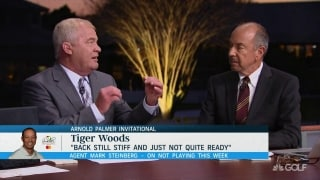 Isenhour: Tiger 'doesn't need a lot of reps' to win Masters