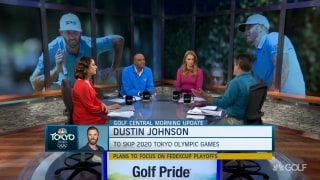 Damron talks DJ skipping Olympics: 'There's bigger things in golf'