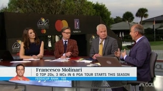 Diaz: Despite struggles, Molinari wasn't 'shattered completely' by Masters