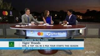 Begay on Tiger: 'Things are trying to progress for him'