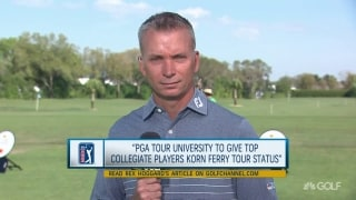 PGA Tour University will give top college seniors Korn Ferry status