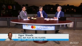 Rolfing: Tiger doesn't need a start to win another green jacket