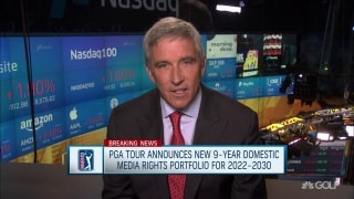 Commish on PGA Tour media deal: 'No. 1 objective to grow and diversify fan base'