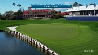 Hole at TPC that best exemplifies a 'Pete Dye golf course'