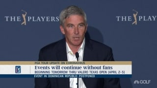Monahan: No fans at events starting Friday