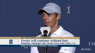 Rory: 'We need to get tested,' if we are going to keeping playing