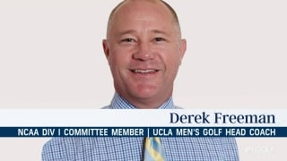 UCLA coach Freeman reacts to NCAA spring cancellations