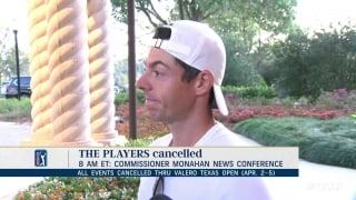 Rory: 'Eerie' atmosphere; uncertainty next few weeks