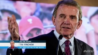 'Quite humbling': Finchem on being '21 WGHOF inductee