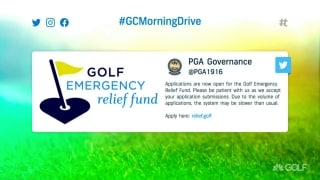 PGA CEO Waugh on Golf Emergency Relief Fund, Ryder Cup fans