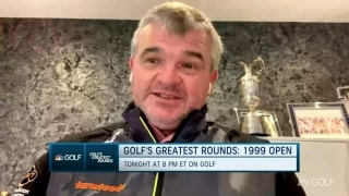 Lawrie recalls victory in unforgettable 1999 Open