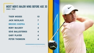 Brooks turns 30: How does Koepka measure up to golf's all-time greats?
