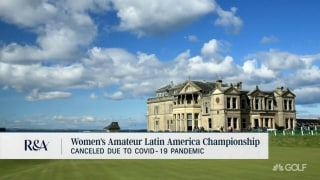 Women's Amateur Latin America Championship canceled due to COVID-19