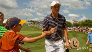 Rewind: Spieth makes first Tour start at '10 AT&T Byron Nelson