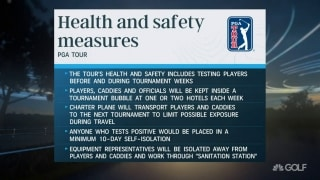 Hoggard: 'Layered testing' focal point of Tour's health and safety plan