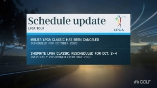 LPGA to merge 2020-21 seasons; Meijer LPGA canceled