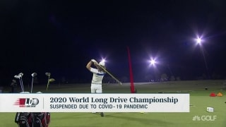 2020 World Long Drive Champ. suspended due to COVID-19