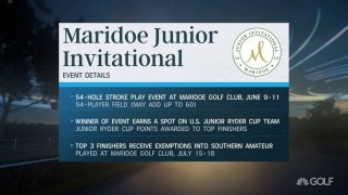 Maridoe Junior Invitational winner will earn spot on U.S. Junior Ryder Cup team