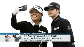 J.Y. Ko, S.H. Park split skins in Hyundai Card Super Match for COVID-19 relief