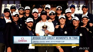 Great Moments in Time: U.S. trumps Europe in 2016 Ryder Cup