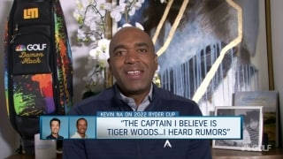 Na: Tiger is rumored to be Captain for 2022 Ryder Cup