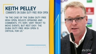 Pelley: Dubai Duty Free Irish Open is 'critical for us'
