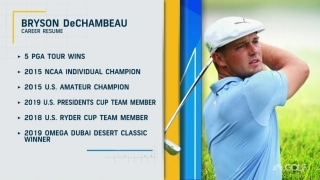 Is DeChambeau the best driver in the men's game?