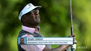 Singh WDs from Korn Ferry Tour Challenge